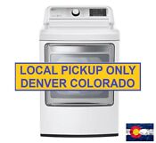 Lg 7 3 Cu Ft Gas Dryer With Turbo Steam In White Dlgx7601we