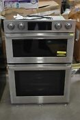 Samsung Nq70m9770ds 30 Stainless Microwave Oven Combo Wall Oven Nob 102861