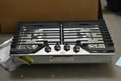 Whirlpool Wcg55us0hs 30 Stainless Natural Gas Cooktop Nob 103222