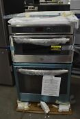 Ge Pk7800skss 27 Stainless Microwave Oven Combo Wall Oven Nob 103251