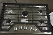 Whirlpool Wcg77us0hs 30 Stainless Natural Gas Cooktop Nob 103061