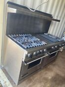 Viking 60inch Gas Range With Vent Hood