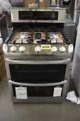 Lg Ldg4313st 30 Stainless Double Oven Gas Range Nob 104418
