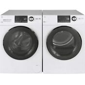 Ge Front Load Washer And Electric Dryer Set Stackable New Excellent Condition
