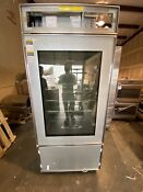 Subzero Bi36ug O Lh 36 Over Under Fridge Freezer W Glass Door