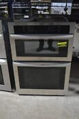 Samsung Nq70r5511ds 30 Stainless Microwave Oven Combo Wall Oven Nob 102869
