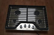 Whirlpool Wcg51us0ds 30 Stainless 4 Burner Gas Cooktop Nob 24897 Hl