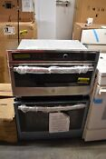 Ge Jt3800shss 30 Stainless Microwave Oven Combo Wall Oven Nob 102733