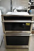 Samsung Nq70m9770ds 30 Stainless Microwave Oven Combo Wall Oven Nob 106486