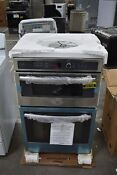 Ge Profile Pk7800skss 27 Stainless Microwave Oven Combo Wall Oven Nob 106728