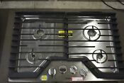 Whirlpool Wcg55us0hs 30 Stainless 4 Burner Natural Gas Cooktop Nob 107224