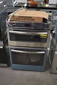 Ge Profile Pk7800skss 27 Stainless Microwave Oven Combo Wall Oven Nob 107272