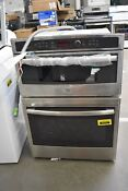 Ge Jt3800shss 30 Stainless Microwave Oven Combo Wall Oven Nob 51212