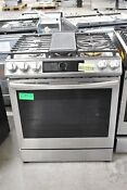 Samsung Nx60t8711ss 30 Stainless Slide In Gas Range 108440