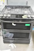 Samsung Nx60t8751ss 30 Stainless Slide In Gas Range 108476