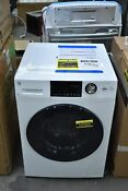 Ge Gfq14essnww 24 White Front Load Electric Washer Dryer Combo Nob 107022