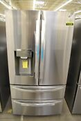 Lg Lmxs28626s 36 Stainless Steel French Door Refrigerator Nob 112189