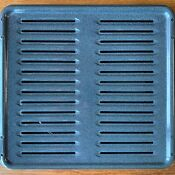 Large Two Piece Broiler Pan Grey Fits Most Brands