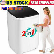 Compact Portable Washer Dryer With Mini Washing Machine And Spin Dryer Us New