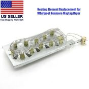 3387747 Dryer Heater Heating Element For Whirlpool Kenmore Maytag Magic Chef