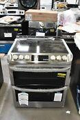 Lg Lte4815st 30 Stainless Slide In Double Oven Electric Range Nob 114889