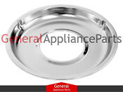 Whirlpool Gas Stove Range Cooktop 8 3 4 Chrome Drip Pan 4336770 4338020 332299