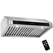 30 Stainless Steel Under Cabinettouch Panel Kitchen Range Hood With Remote