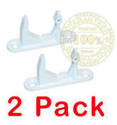 2 Pack 134456602 New Frigidaire Gibson Washer Front Load Door Strike Lock Catch