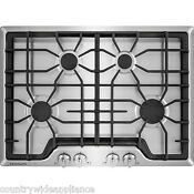 Frigidaire Stainless Steel Gallery 30 Gas Cooktop Sealed Burners Fggc3045qs