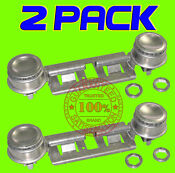 2 Pack Wb29k0017 Double Top Burner Kit Fits Ge Kenmore Hotpoint Gas Oven Stove