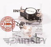 279973 8318314 Dryer Thermal Fuse Thermostat Kit Fits Whirlpool Kenmore Maytag