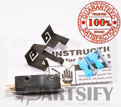 New 279347 Dryer Door Switch With 691581 Bracket For Whirlpool Kenmore Maytag