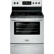 Frigidaire Stainless Steel Gallery 30 Electric Freestanding Range Fgef3030pf