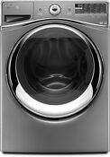 Whirlpool Wfw96heac 27 Chrome Shadow Front Load Washer Nib 8445