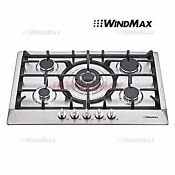 30inch Stainless Steel 5 Burners Cooktops Built In Stoves Ng Lpg Gas Hob Cooker