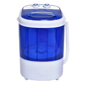 Small Mini Portable Compact Washer Washing Machine Capacity Blue New
