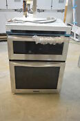 Kitchenaid Kems309bss 30 Stainless Convection Double Wall Oven Combo Nob 5829