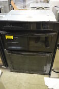 Kitchenaid Kems309bbl 30 Black Electric Microwave Oven Combo Wall Oven 13753