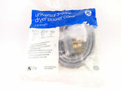 Ge Dryer Power Cord 3 Prong Conductor 4ft 30a 250v Universal 3 Wire