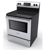 Bosch Ascenta Hes3053u 30 Stainless Freestanding Smooth Electric Range New Deal