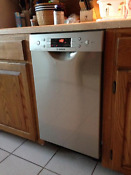 Bosch Spe5es55uc 18 Stainless Built In Full Console Dishwasher Nib New Deal