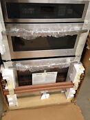 Jenn Air Jmw2330ws02 30 Electric Combination Microwave Wall Oven Build In
