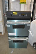Ge Jrp28skss 24 Stainless Double Electric Wall Oven Nob T 2 15851