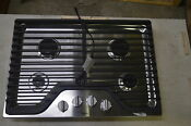 Whirlpool Wcg51us0ds 30 Stainless Gas Cooktop W 4 Burner 6371 Wlk T2