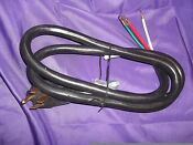 6 Foot Dryer Cord 4 Wire 4 Prong 30 Amp 10 4 125 250 Volt