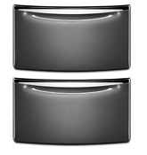 Whirlpool Xhpc155xg 15 5 Grey Premium Laundry Pedestal W Drawer Set Of 2