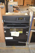 Ge Jgrp20bejbb 24 Black Single Gas Wall Oven Nob 18116