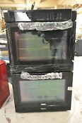 Whirlpool Wod93ec0ab 30 Double Electric Wall Oven Black New T2