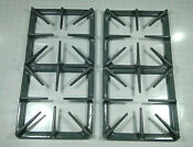 Ge General Electric Gas Stove Burner Grate Set Wb31k68 Ap2027944 Ps244334