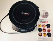 Nuwave 2 Precision Induction Cooktop Electric Portable Model 30151 W Dvd